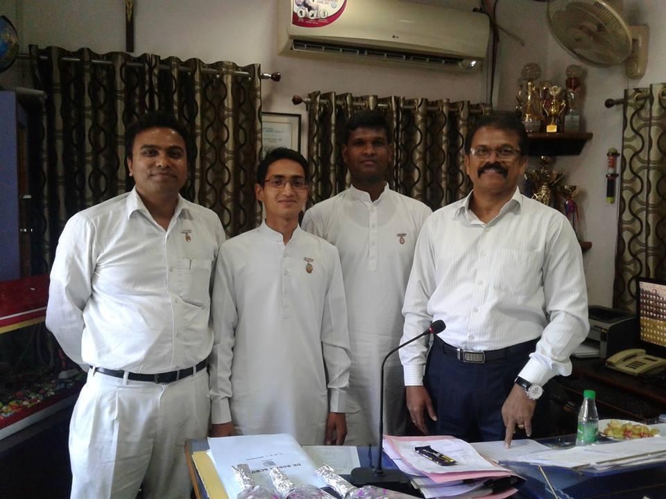 DE-NOBILI SCHOOL CMRI DHANBAD principal Mr. JOSEPH Brahma kumaris dhanbad group