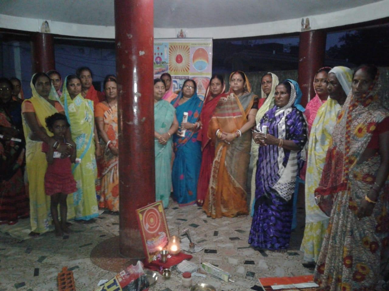 Brahma Kumaris Dhanbad Sewa in Hari Mandir dated 15 july 2018