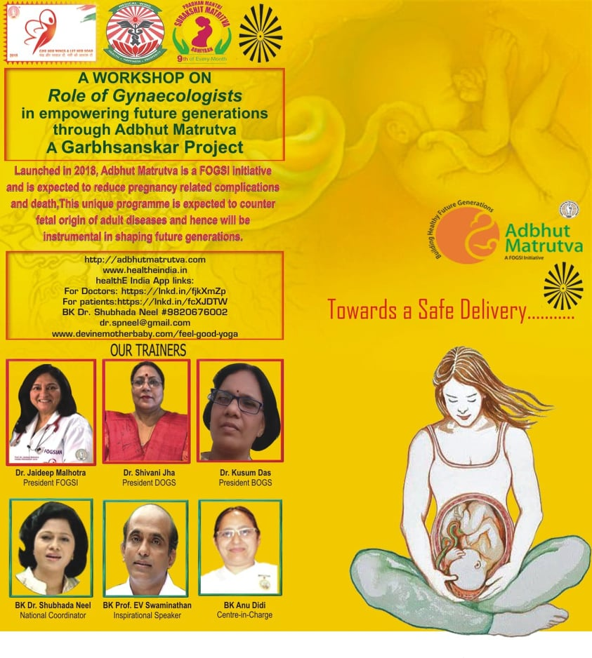 Adbhut Matrutva Program by Brahma Kumaris Dhanbad